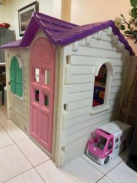 Vendo de oportunidad casa grande original little tikes