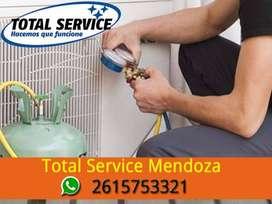 Reparacion y recarga de gas Aire Acondicionado