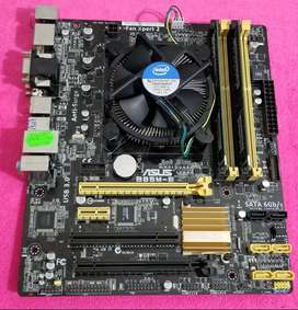 Combo 1150 Asus i7 4790 8GB DDR3 1600Mhz PC Intel