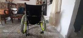 Vendo silla de ruedas negociable