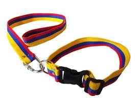 Pecheras y collares tricolor mascotas x249 und