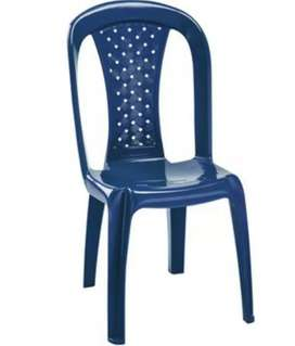 Lote de 30 sillas salsa Rimax azul oscuro
