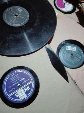 Liquido Discos de Pasta 78 Rpm Vintage