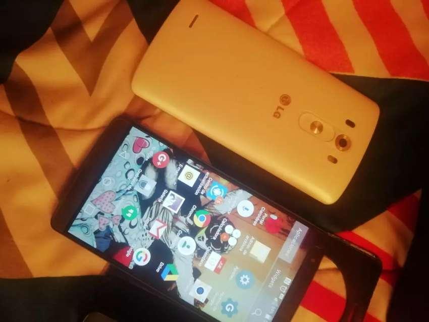 Celular LG g3 en óptimas condiciones. Con repuesto de pantalla 0