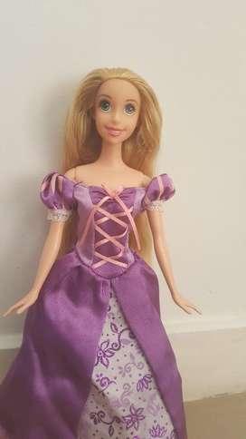 Muñeca Rapunzel Barbie Original Nueva