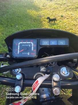 Solo vendo moto Honda XR125L mod 2014