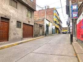 Venta de terreno en el centro de Ayacucho