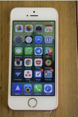 Lindo iphone 5 se dorado con huella
