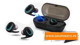 Audifonos Bluetooth 5.0 Tws Gruponatic San Miguel