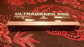 Ecualizador Gráfico Behringer Ultragraph Pro Fbq1502 Hd