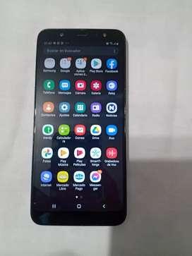 Samsung galaxy A6PLUS libre para cualquier compañía