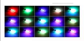 Bombillos RGB luz media