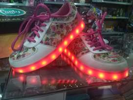 Zapatillas Footy con Led