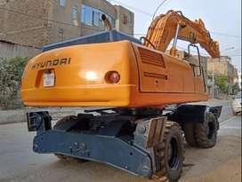 Excavadora de Ruedas Hyundai R200W-3