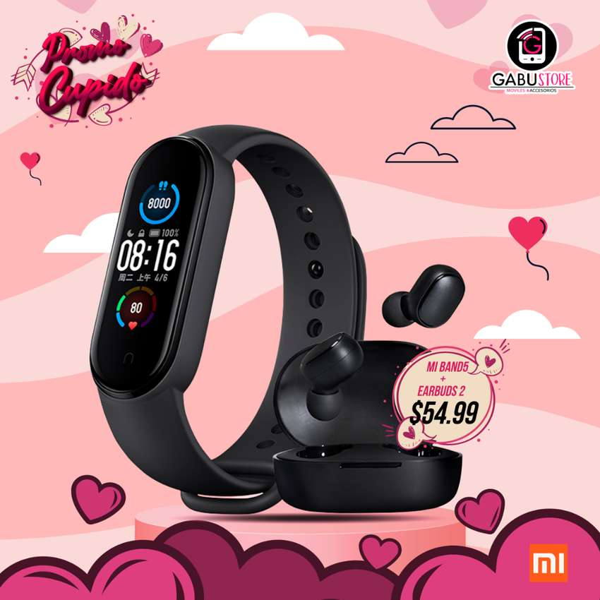 COMBO MI BAND5+EARBUDS 0