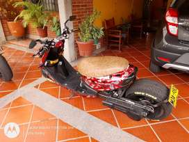 Scooter modificada en venta