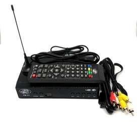 Decodificador TDT, canales de TV full HD nacionales (programado)