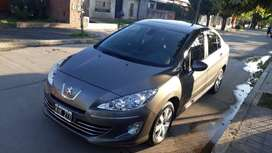 PEUGEOT 408 ALLURE PLUS NAV GNC 2011