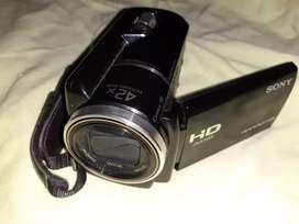 Vendo cámara de video Sony HDR-XR16O