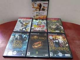 vendo Juegos play 2