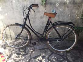 Bicicleta vintage dama inglesa