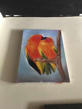 Cuadros pintura en lienzo