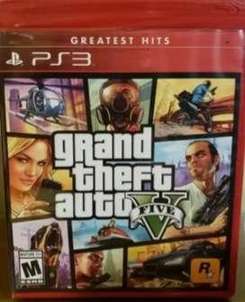 Juego PS3 Grand Theft Auto 5