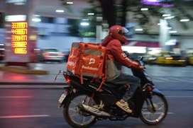Se necesita motorizado a medio tiempo para delivery