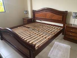 Se vende juego de dormitorio 3 plazas