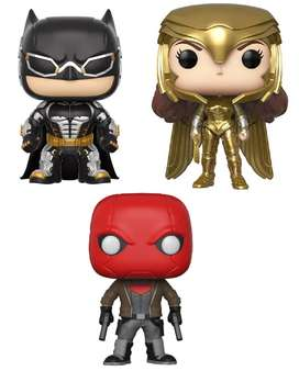 Funko pop Dc Batman Wonder Woman Red Hood