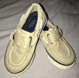 Zapatos Polo Ralph Lauren niño talla 8