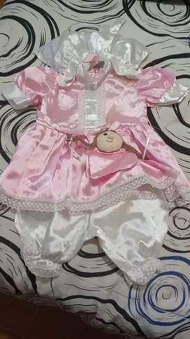 Disfraz muñeca
