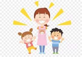 Busco trabajo de niñera, parvularia o atención al cliente