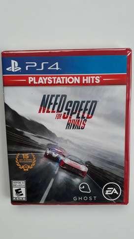 Need For Speed Rivals Juego Ps4 Nuevo Y Sellado