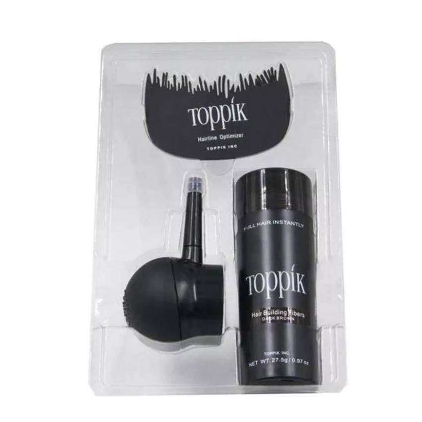 Mejora la delgadez de tu cabello con TOPPIK fibras capilares