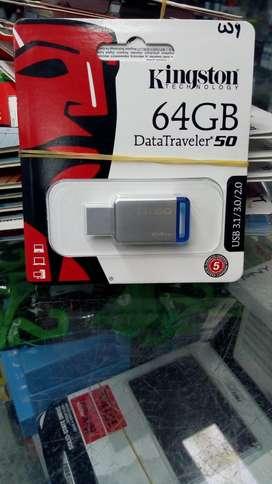 USB 64GB 3.0 KINGSTON ORIGINAL