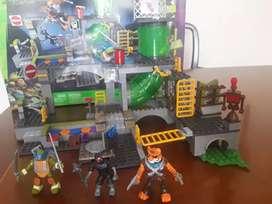 Lego Original Tortugas Ninjas Mega Bloks