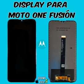 Display original moto one fusión