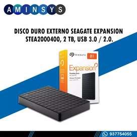DISCO DURO EXTERNO DE 2TB SEAGATE