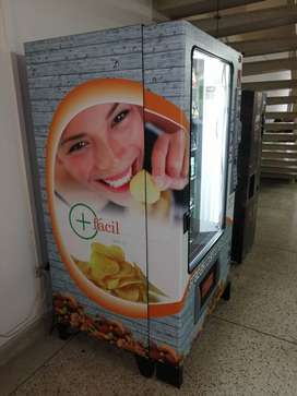 Arriendo máquina vending refrigerada