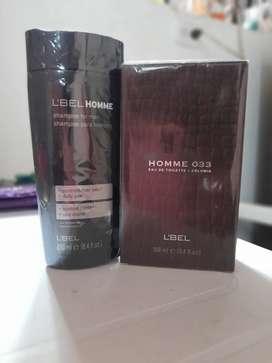 Kit Shampoo y perfume Homme 033 de l'bel