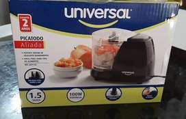 Picadora electrica universal 1,5 taza
