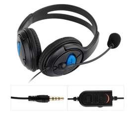 Auriculares MEMTEQ con microfono externo para juegos PS Pc