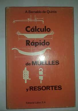 CALCULO RAPIDO DE MUELLES Y RESORTES - Editorial Labor libros técnicos