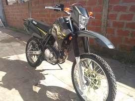 Yamaha XTZ 250cc, casi 2018