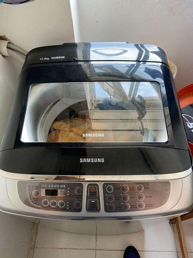 Lavadora Samsung Wobble 24 Lbs. 0