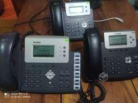 TELÉFONO OPERADOR YEALINK IP POE SIP26P SEMINUEVO A 100 SOLES