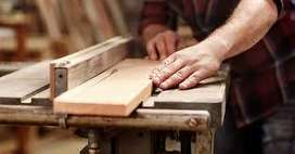 se necesitan carpinteros con experiencia en muebles finos