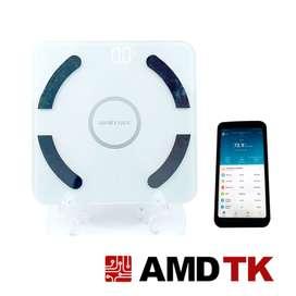 Bascula medición corporal tipo Tanita 13 funciones + App Bluetooth