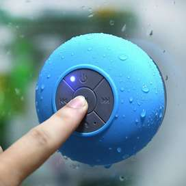Parlante Speaker Bluetooth Impermeable Manoslibres Para Ducha, Bañera, Cocina.